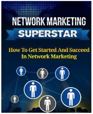 Network Marketing  Superstar Pdf Ebook with resell rights