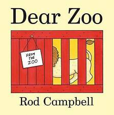 Dear Zoo by Rod Campbell (2010, Board Book, Main Market Edition)