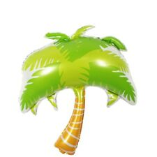 Coconut Palm Tree Aluminum Foil Balloons Beach Party Inflatable Balloon Decals