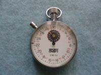 Swiss Made Sport Craft 1/10th Mechanical Wind Up Vintage Stop Watch Stopwatch