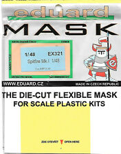 Eduard Spitfire Mk.I Painting Mask EUEX321 for Airfix 1/48 Scale Kit