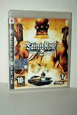 Saints row 2 Game Used Good Condition Sony ps3 Edition Italian PAL gd1 44933