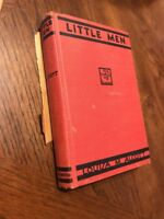Little Men By Louisa M Alcott Inscriptions First Edition USA Vintage Book