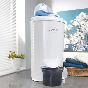 English Electric Gravity Drain Spin Dryer 28009WP 5.2kg - White Knight Dryers