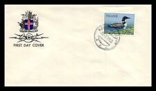 Iceland 1967 FDC, Great Northern Diver. Lot # 2.
