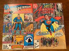 Superman 423 & Action Comics 583 Alan Moore VF/NM