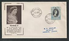 BAHAMAS # 157 CORONATION OF QUEEN ELIZABETH II, First Day Cover (5684)