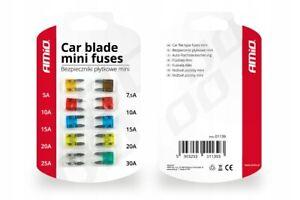 10x MINI Flachsicherungen Sicherung Autosicherungen Pkw Kfz