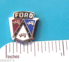 EARLY Ford logo  - hat pin , lapel pin , tie tac , hatpin  (silver) GIFT BOXED