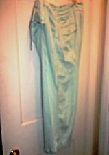 Old Navy Just Below Waist Stretch Aqua Color Crop Pants  Size 20