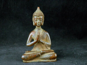 Good Quality Antique Tibetan Brass Hand Made *Amitabha Buddha* Statue KK004