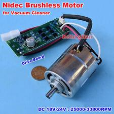 Nidec Dc 18v 24v High Speed 3 Phase Brushless Motor Driver Board Vacuum Cleaner