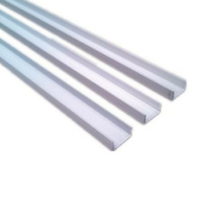 100mm Aluminium Extrusions U Channel 2mm Thickness 6.5m Long