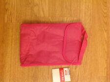 Tesco Girls Pink Lunch Bag Easy Clean Flap Closing Brand New with Tags