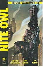 BEFORE WATCHMEN NITE OWL 1 LION 2012