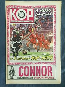 Liverpool FC  -  KOP Newspaper  -  December 20th 1967  -  Issue No 34