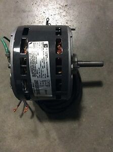 Emerson K55HXSMA-1645 48Y electric Motor Hvac K1645 1/6hp 1550rpm 208-230v Fan