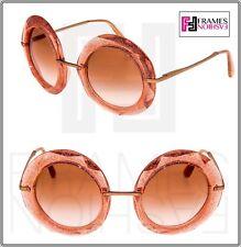 c08ff581b1a1 Dolce   Gabbana Dg6105 DG 6105 Sunglasses 310413 Pink   Glitter Gold