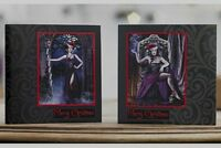 Pack of 10 Christmas Cards Alchemy Dark Gothic With Envelopes