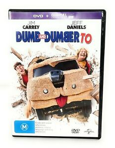 Dumb And Dumber To 2 (DVD, 2014) Jim Carrey Region 4 Free Postage