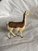 Vintage Britains Ltd Llama / Alpaca? Figurine ~ Hard Plastic ~ Circa 1970's