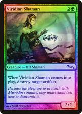 Viridian Shaman FOIL Mirrodin HEAVILY PLD Green Uncommon MAGIC MTG CARD ABUGames