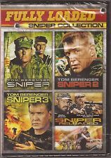 Sniper 1, 2, 3 & 4 - DVD 4-Movie Fully Loaded Collection Tom Berenger BRAND NEW