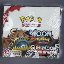 Pokemon Crimson Invasion Booster Box Factory Sealed 36 pks