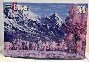 New Vintage Encore 500 Piece Puzzle, Grand Teton National Park