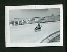Flat Track Motorcycle Racing Motion Vintage 1968 Photo 466171