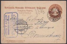 MEXICO, 1904. Post Card H&G 113, M.C. - Braunschweig