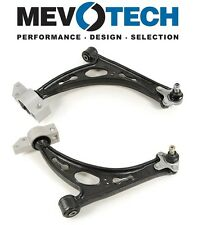 Audi A3 VW EOS Jetta R32 Rabbit Pair Set of 2 Front Lower Control Arms Cast Iron