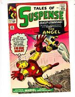 Tales of Suspense 49 VG+ (4.5) 1/64 1st X-Men x-over! (Angel)