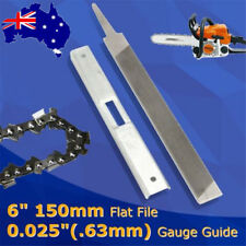 150mm Flat File Depth Gauge Kit for General Chainsaw STIHLs Raker Guide 6 inch