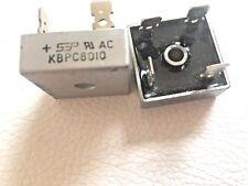 10 Pieces | KBPC8010 80A Amp 1000v Diode Bridge Rectifier