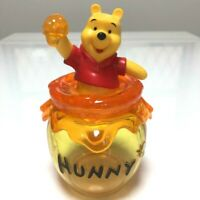 Tokyo Disney Resort Winnie The Pooh Candy Case Hunny Pot Figure bucket JAPAN