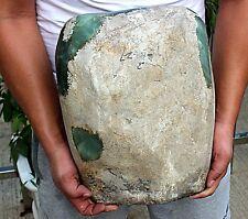 54Lb Huge Rare Jadeite Boulder Rough Raw Cut Natural Form A Type Jade Specimen