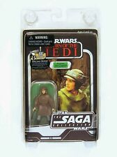 Hasbro Star Wars Vintage Saga Series ROTJ Princess Leia in Combat Poncho Figure