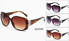 New Women Fashion Plastic Vintage High Quality Sunglasses Wholesale 12 Pairs