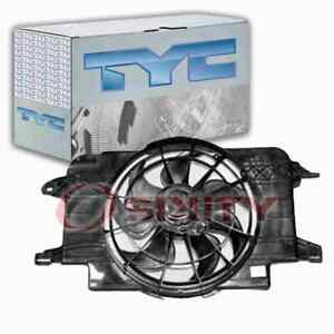 TYC Dual Radiator & Condenser Fan Assembly for 1994-2002 Saturn SC1 Belts qt