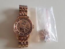 Fossil Damen Uhr Armbanduhr Automatik Skelettuhr rosegold *TOP*