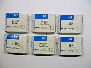 6 x original HP 10 je 2 x cyan magenta gelb 2000 2500 DesignJet ColorPro CAD/GA