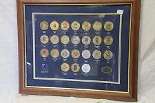 Official Olympic Games Emblem Medallion Set 1896-2000 - Framed - Limited Edition