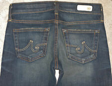 AG ADRIANO GOLDSCHMIED Tomboy Jeans Sz 24 Low Straight Leg AG'ed 2 yr Wash $220
