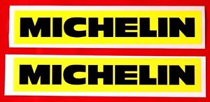 DUCATI 851-888 /SP4/5 SWING ARM DECALS - MICHELIN BLACK/YELLOW / PAIR