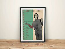 Primal Scream Loaded inspired Collage Art Print