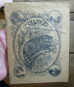 VINTAGE 1923 A R HARDING THE TRAPPERS HAND BOOK 72 PAGE BOOKLET