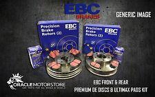 Nouveau EBC Avant Et Arrière Disques De Frein Et Plaquettes Kit OE Qualité Remplacement-PD40K144