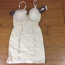 Maidenform Firm Control Shaping Convertible Slip Beige Size 36D NWT BB25