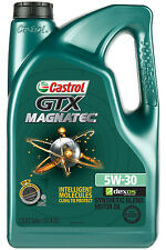 Castrol GTX MAGNATEC 5W-30 Synthetic Blend Motor Oil 5 qt